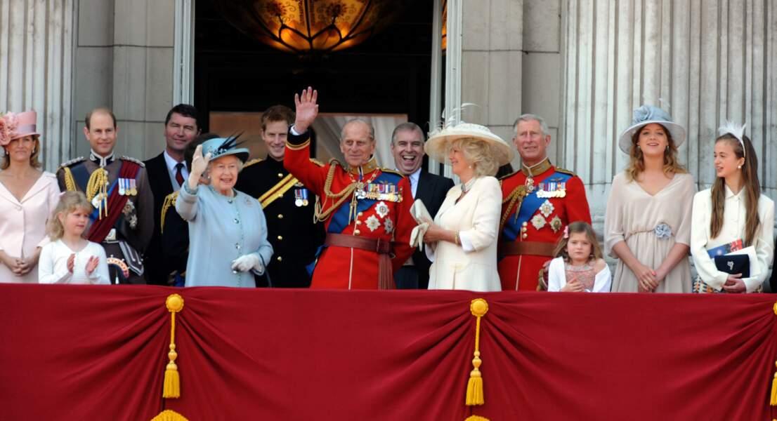 En juin 2011 le prince Philip fête ses 90 ans en pleine forme.