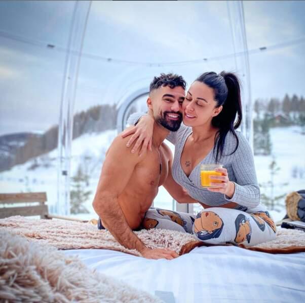 Depuis l'officialisation de leur couple, Shanna Kress et Jonathan Matijas sont dans leur petite bulle d'amour !