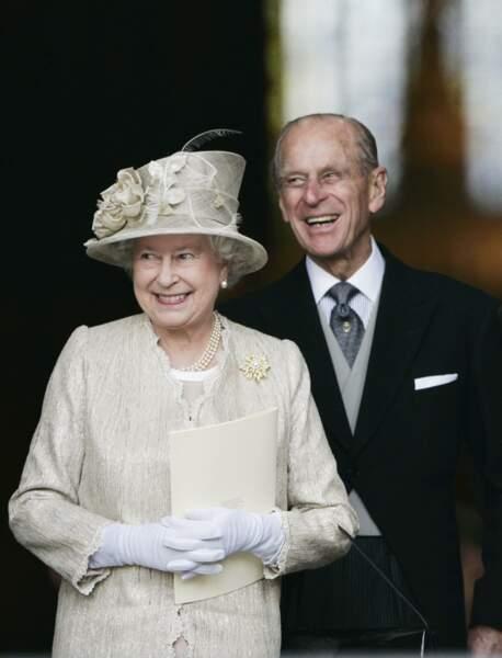"""La reine déclarera dans la même année """"C'est mon roc. Il a tout simplement été ma force et mon soutien"""""""
