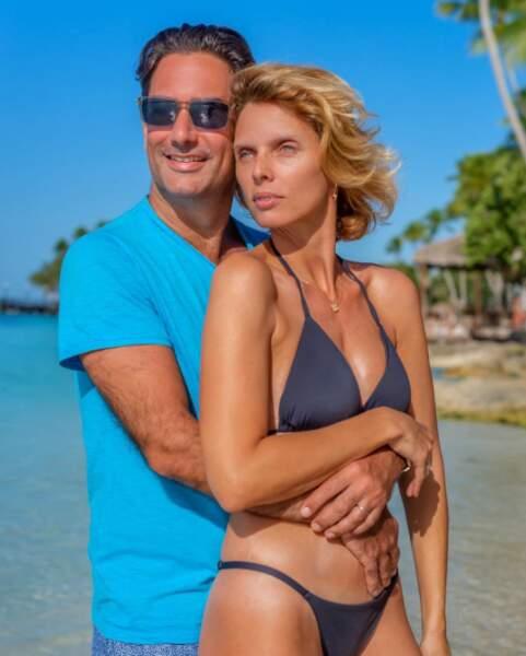 Sylvie Tellier et son compagnon Laurent