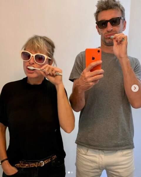 Karin Viard et le réalisateur Manuel Herrero