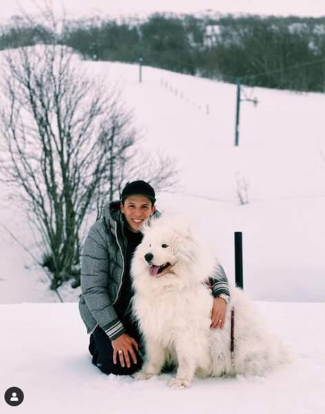 Alizée dévoile ses deux Valentin : Grégoire Lyonnet et son chien