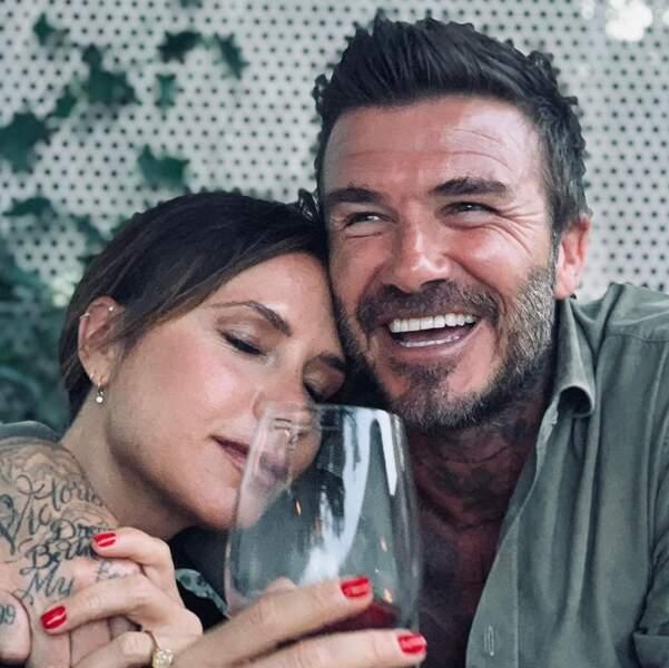 Victoria et David Beckham toujours amoureux…
