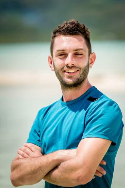 Jonathan, 31 ans, moniteur d'escalade