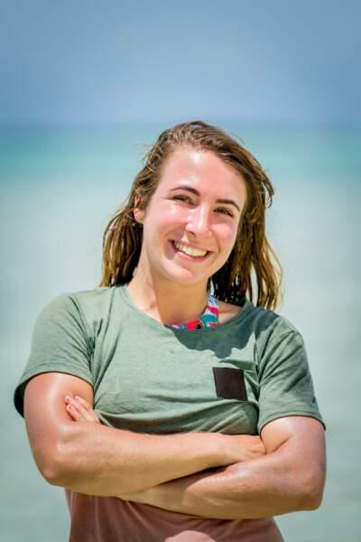Candice, 25 ans, instrutrice en survie