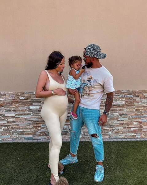 Idem du côté de Liam Di Benedetto, ici avec sa fille Joy et son mari Christophe.