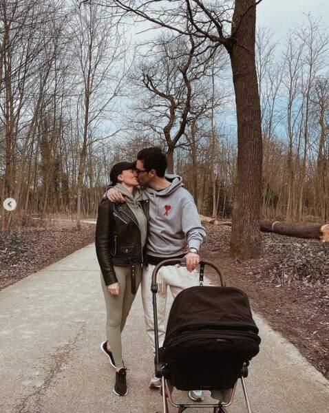 C'est toujours le big love entre Rachel Legrain-Trapani et Valentin Léonard.