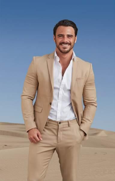 Benjamin Samat en 2021 à Dubaï