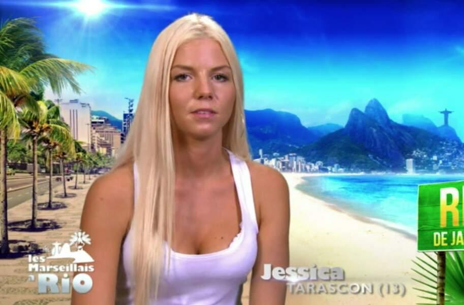 Jessica Thivenin fait sa première apparition dans Les Marseillais en 2014 à Rio