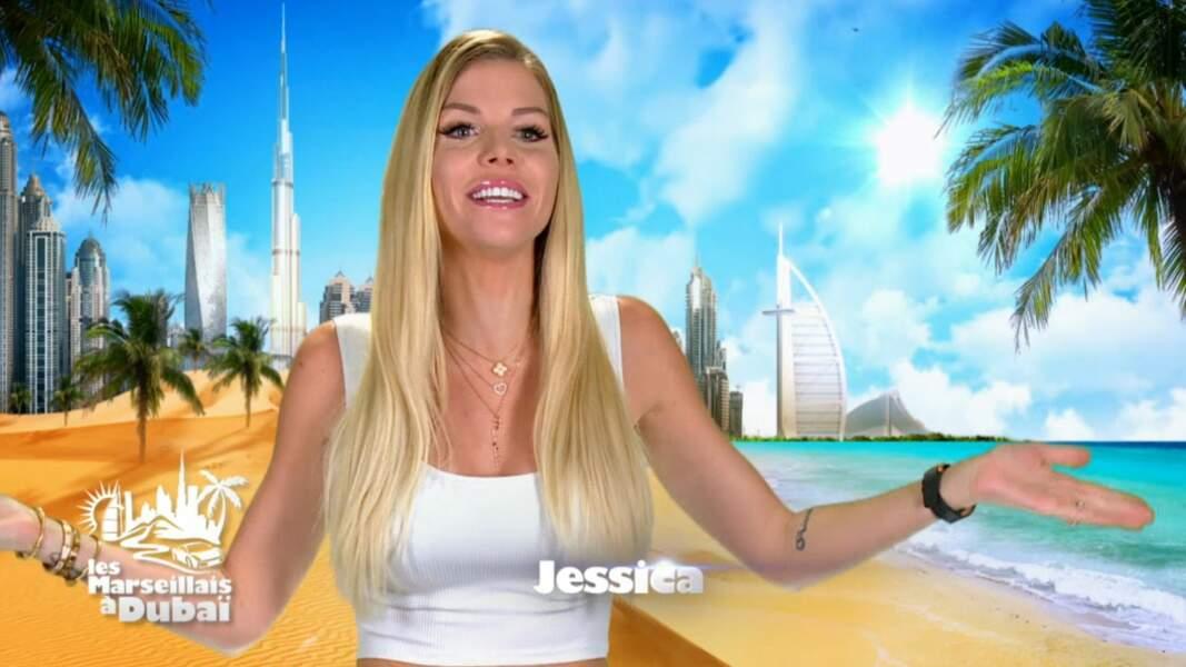 Jessica Thivenin dans Les Marseillais à Dubaï en 2021