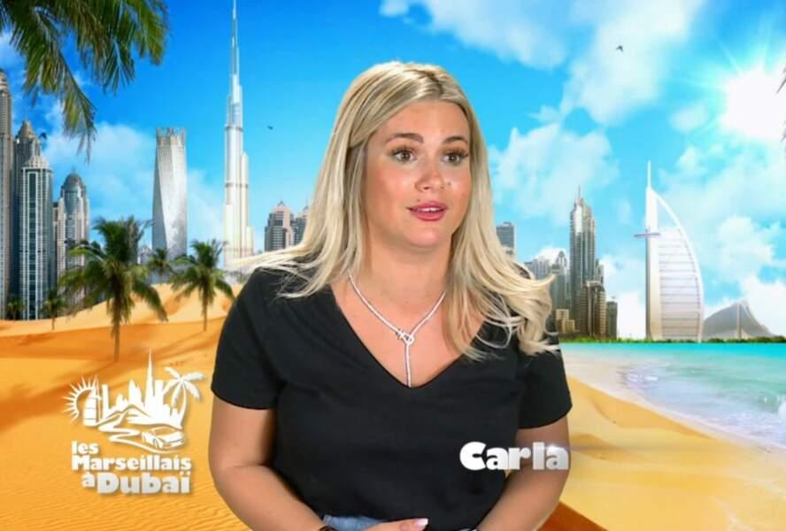 Jeune maman, Carla Moreau compte bien profiter de Dubaï avec son futur mari Kévin Guedj