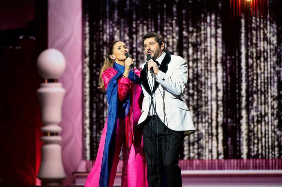 Costumes de toute beauté pour Vitaa et Patrick Fiori, vous ne trouvez pas ?