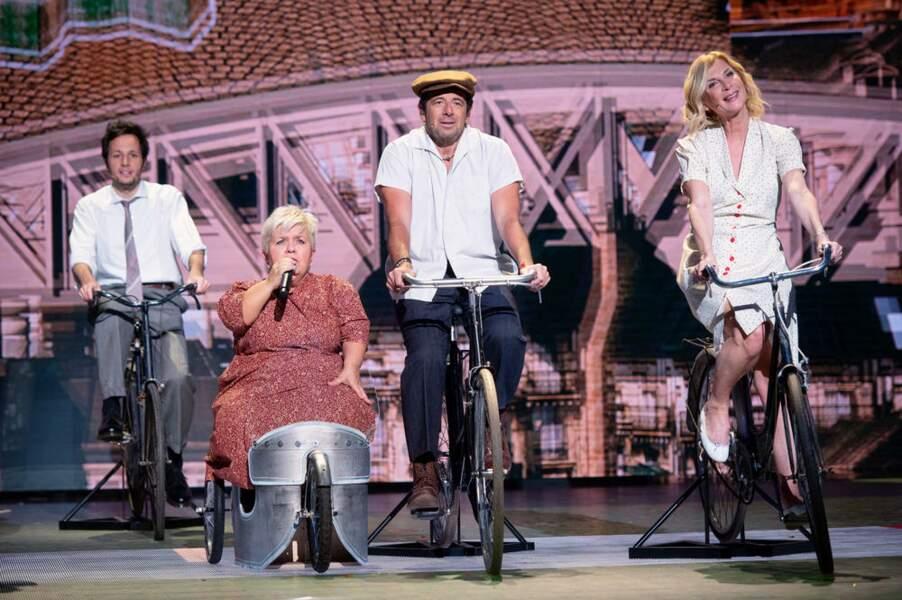 """""""Quand on partait de bon matin. Quand on partait sur les chemins. À bicyclette..."""""""