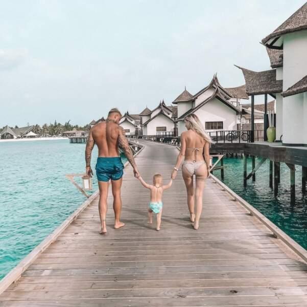 Vacances en famille aux Maldives pour les Garcia