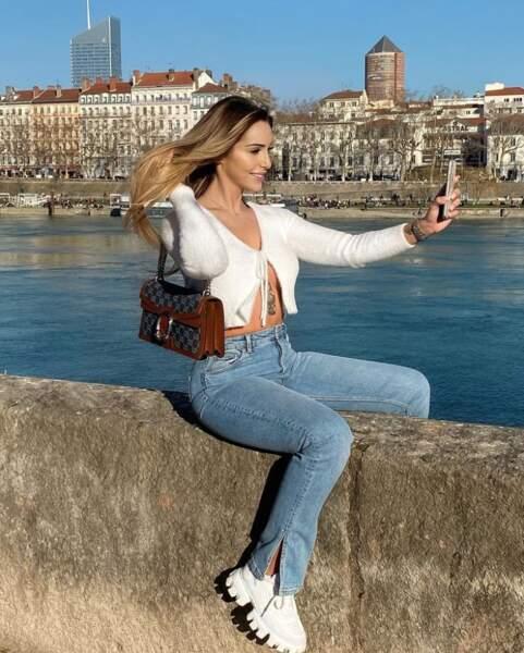 Mélanie Orlenko est de retour chez elle à Lyon
