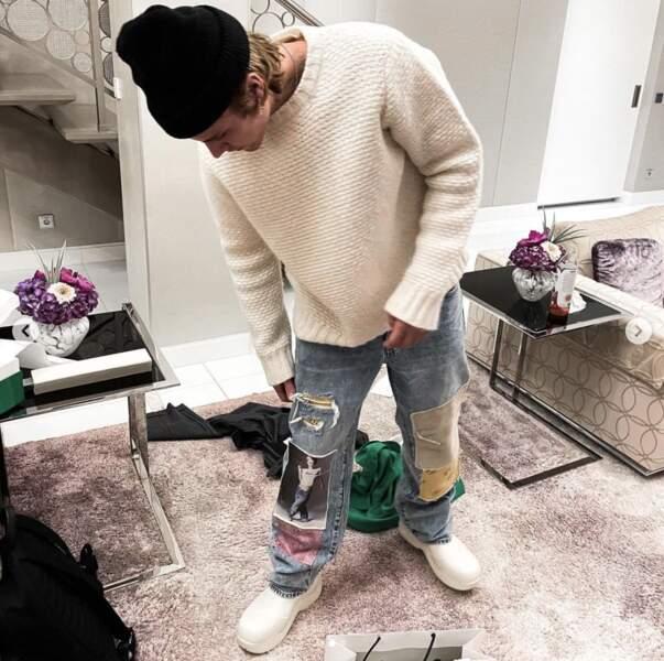 Le temps d'enfiler ses chaussures et Justin Bieber sera là