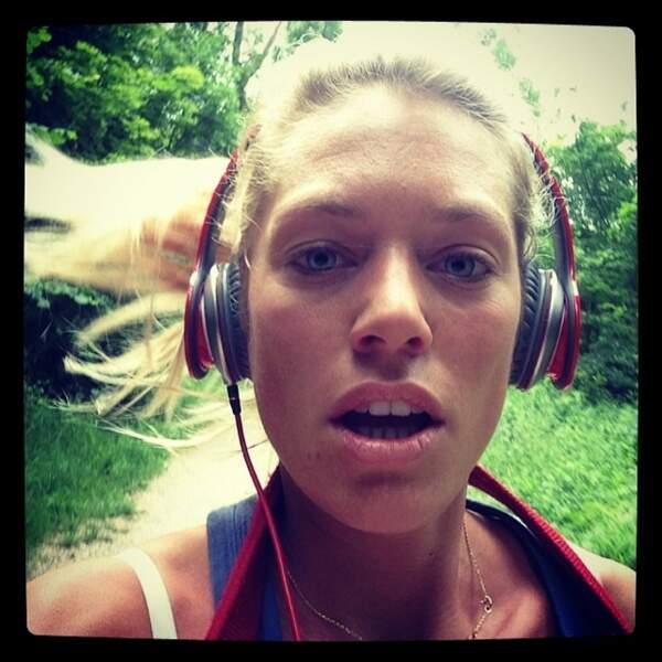 Pour le sport, à commencer par un peu de course à pied, Aurore Delplace répond présente