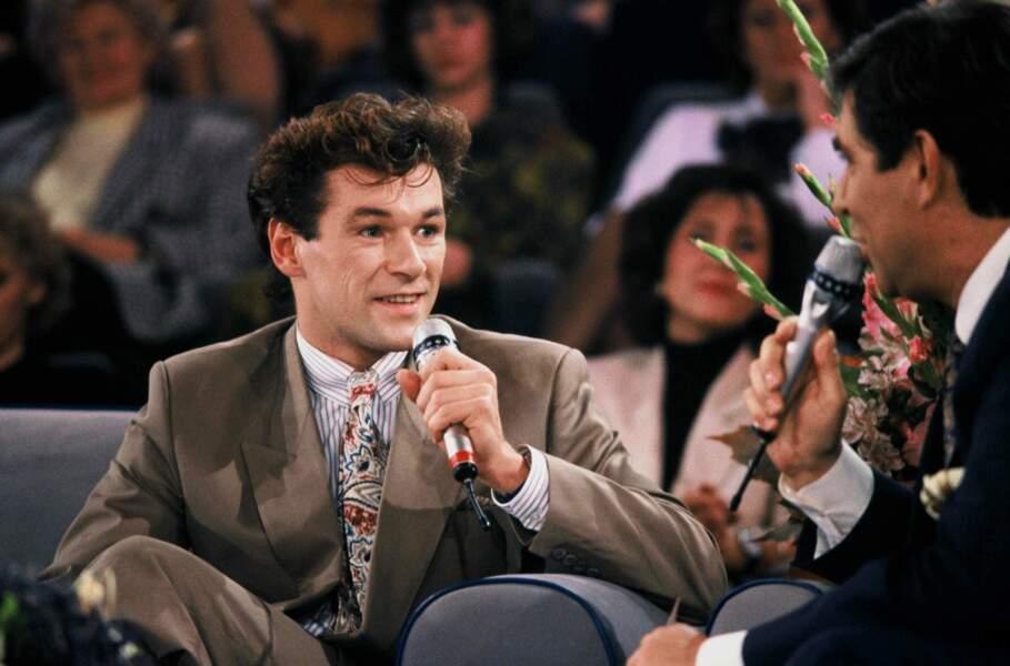 En 1990, il est invité sur le plateau de Sacrée soirée avec Jean-Pierre Foucault