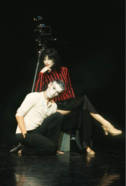 Sous la direction de Roland Petit il dansera aux côtés de Marie-Claude Pietragalla dans Camera obscura en 1994