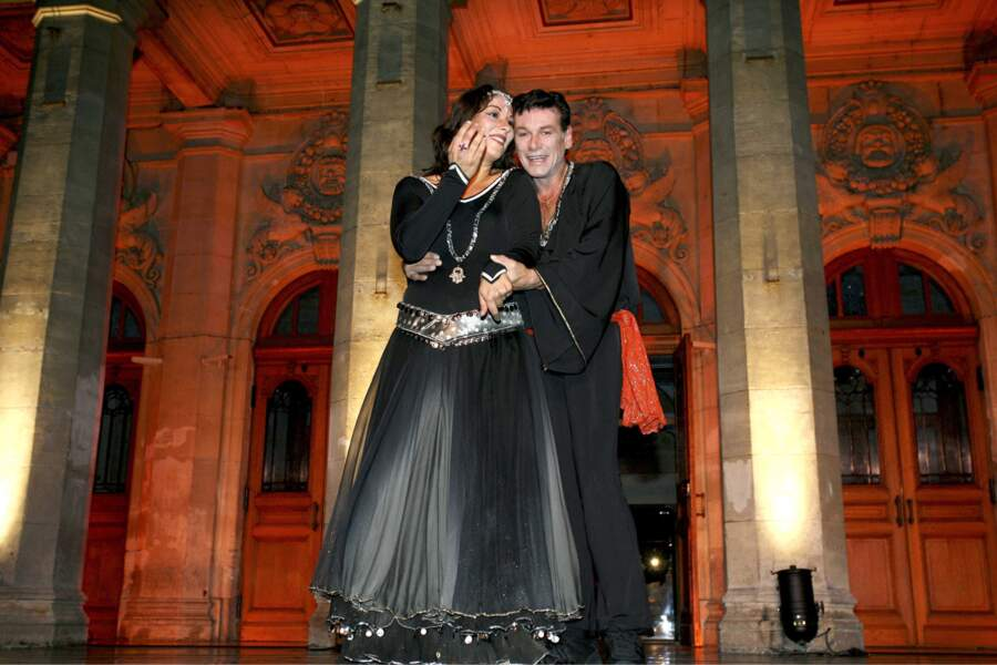 Patrick Dupond et sa compagne Leila Da Rocha