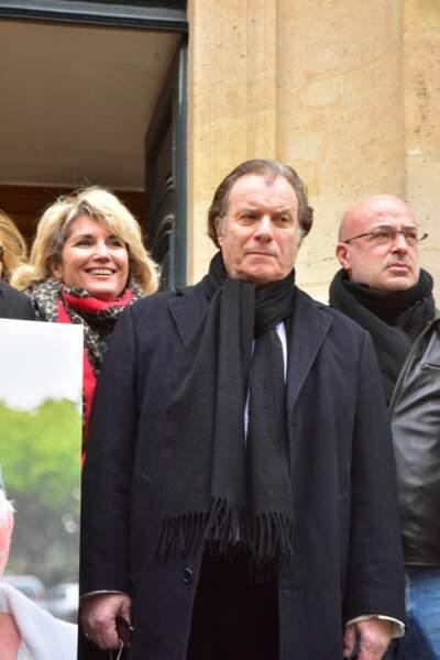 Veronica Antonelli et Daniel Russo réunis en l'honneur de Rémy Julienne.
