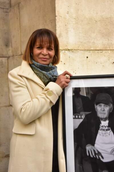 Justine Poulin, qui a partagé la vie du concepteur de cascades français décédé à 90 ans, fin janvier 2021.