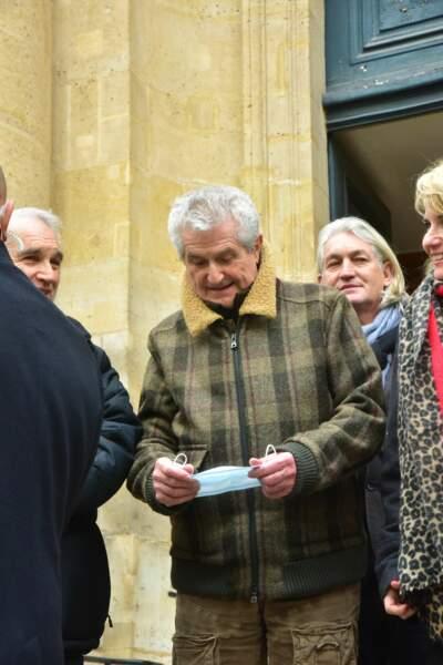 Claude Lelouch présent pour l'ultime hommage rendu à Rémy Julienne.