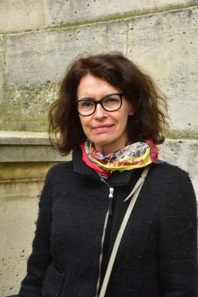 La comédienne Sylvie Loeillet.