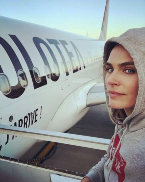 En dehors des tournages, Mélanie Maudran aime aussi voyager