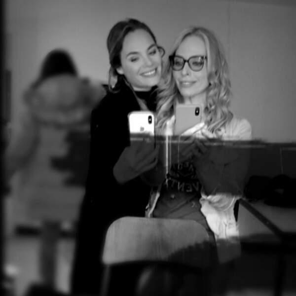 Mélanie Maudran a retrouvé une ancienne partenaire de Sous le soleil, Tonya Kinzinger