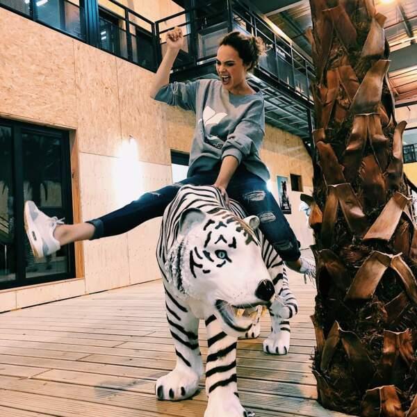 Sur le dos d'un tigre...