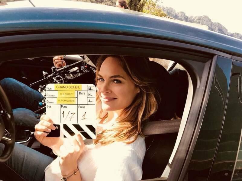 En avril 2018, Mélanie Maudran se lance dans l'aventure Un si grand soleil