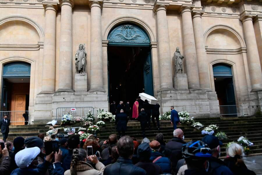 Les obsèques de Patrick Dupond se tenaient en l'église Saint-Roch à Paris ce jeudi 11 mars 2021
