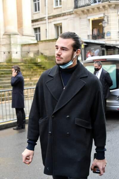 Le danseur Anthony Colette aux obsèques de Patrick Dupond