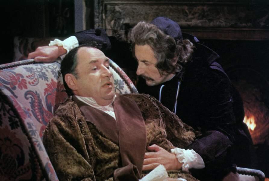 Philippe Noiret et Jean Rochefort dans Que la fête commence (1975)