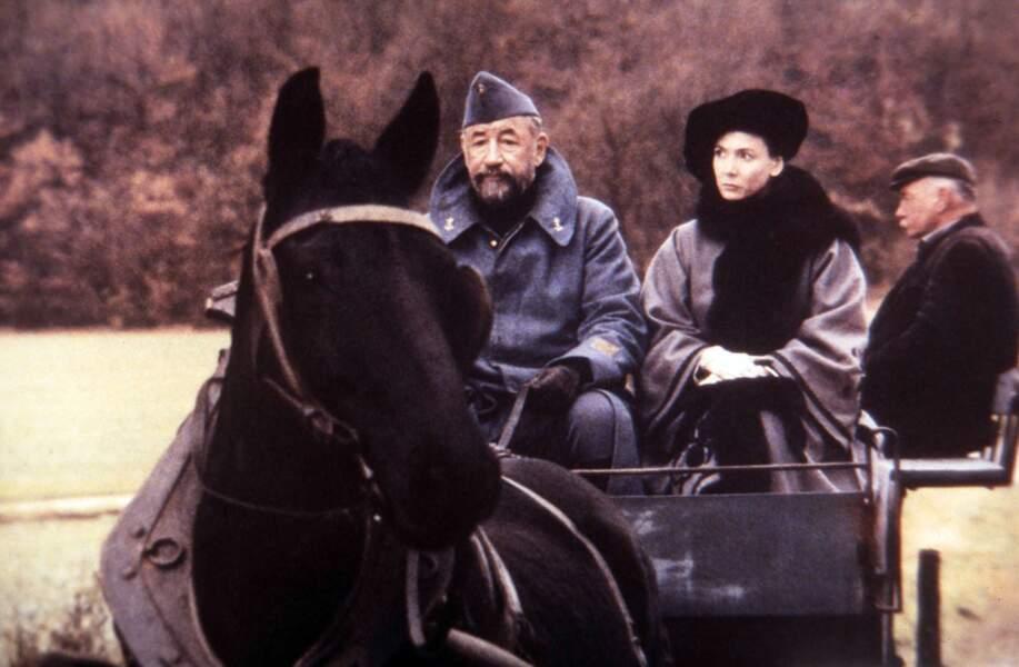 Philippe Noiret et Sabine Azéma dans La vie et rien d'autre (1989)