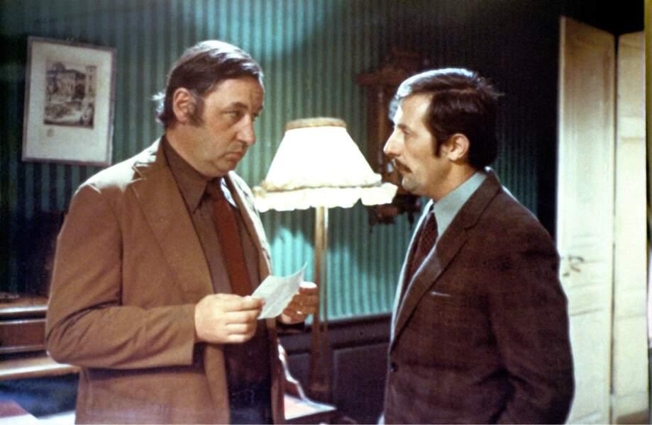Philippe Noiret et Jean Rochefort dans L'horloger de Saint-Paul (1974)