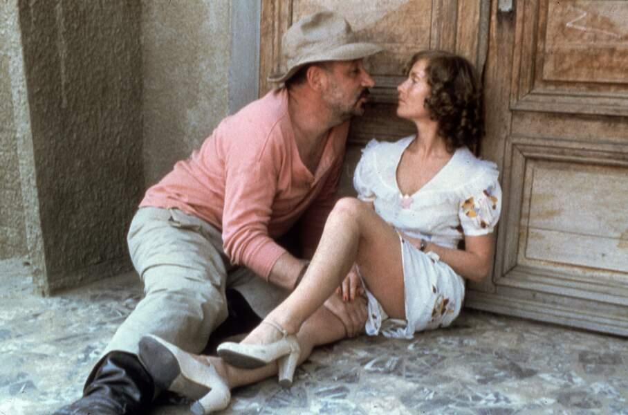Philippe Noiret  et Isabelle Huppert dans Coup de torchon (1981)