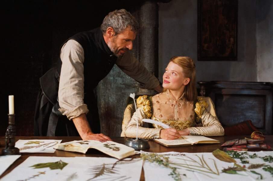 Mélanie Thierry et Lambert Wilson dans La princesse de Montpensier (2010)