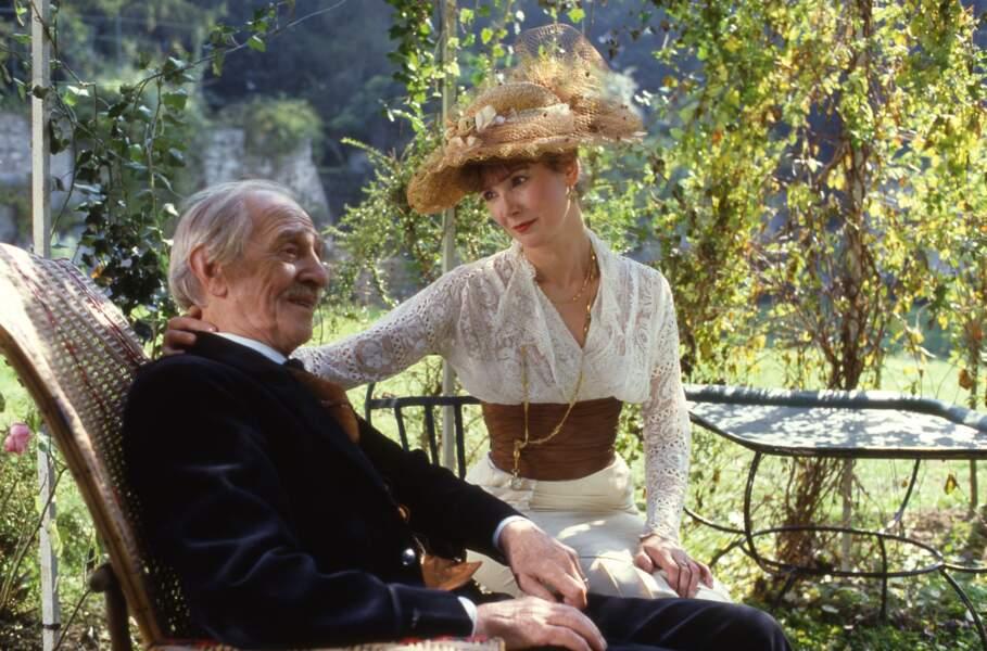 Sabine Azéma et Louis Ducreux dans Un dimanche à la campagne (1984)
