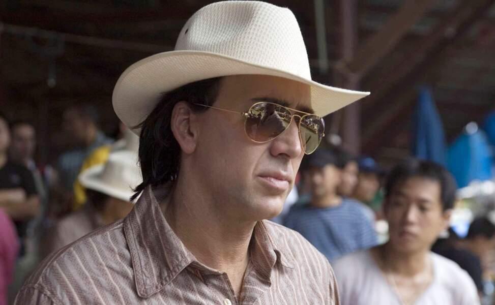 Nicolas Cage aime aussi beaucoup les chapeaux...