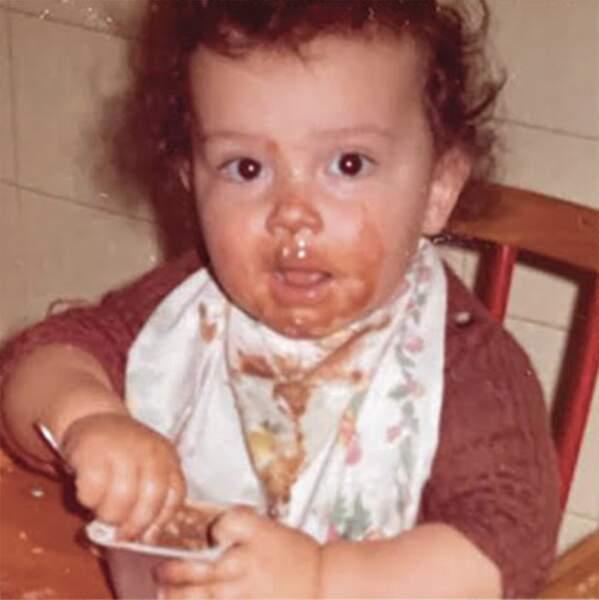 En voilà un qui, petit déjà, croquait la vie à pleine dents...
