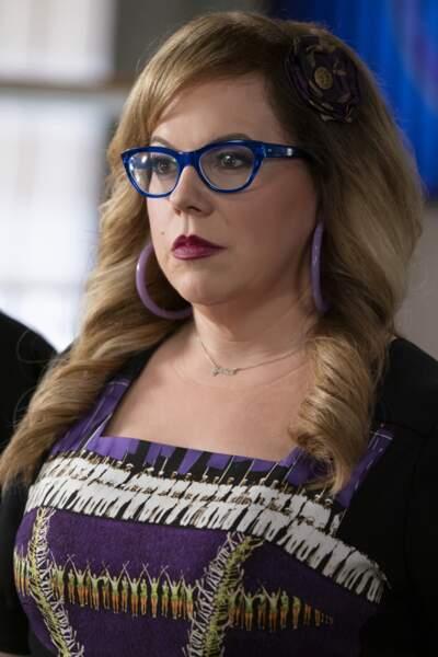 Elle incarnait Penelope Garcia, analyste technique et agent de liaison