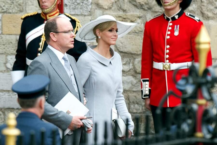 Un privilège réservé au gotha bien sûr, comme ici le prince Albert de Monaco et sa fiancée et future épouse Charlène