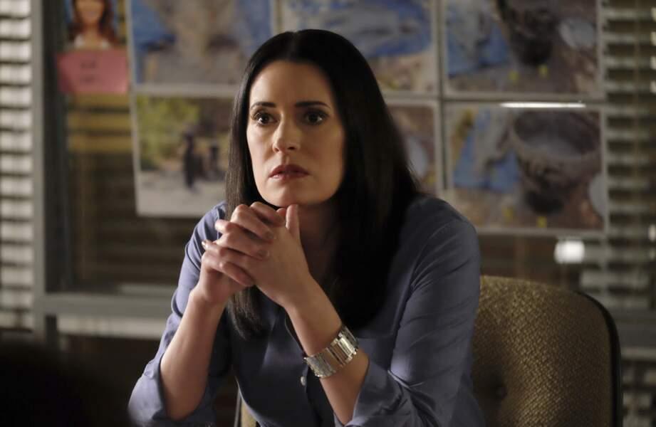 Elle est partie, pour mieux revenir ! On l'a vue jusque dans la saison finale ! Puis plus tard dans la mini-série Netflix Hollywood.