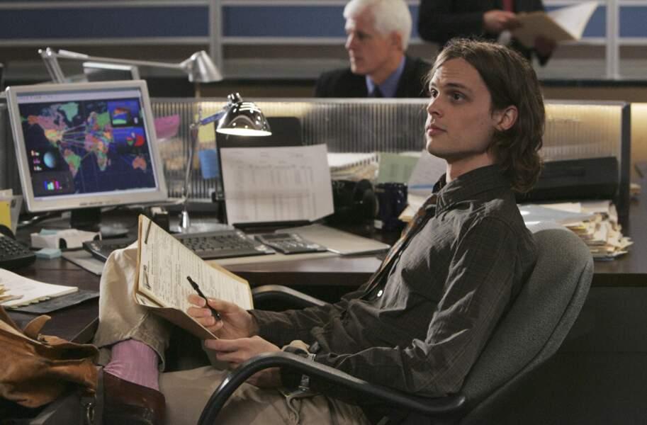 Enfin, Matthew Gray Gubler a incarné l'agent spécial Dr Spencer Reid a rejoint la série dès la saison 1