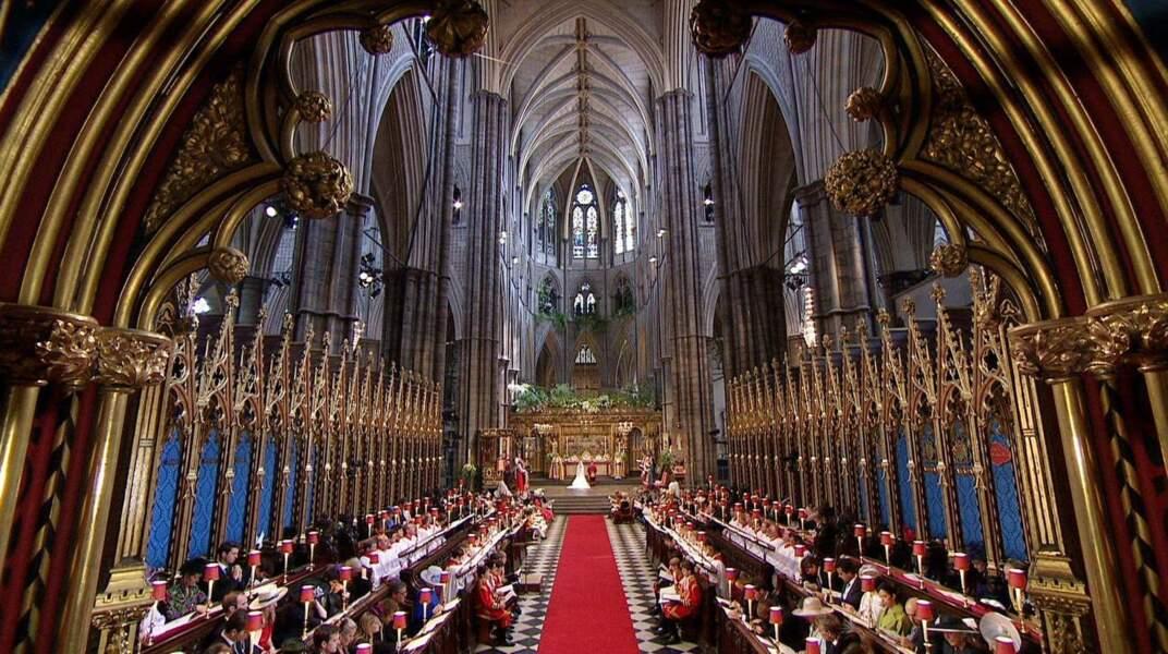 C'est dans la majestueuse abbaye de Westminster que le Prince William épouse Catherine Middleton. Là où la reine Elizabeth II et le prince Philip se sont unis également en 1947
