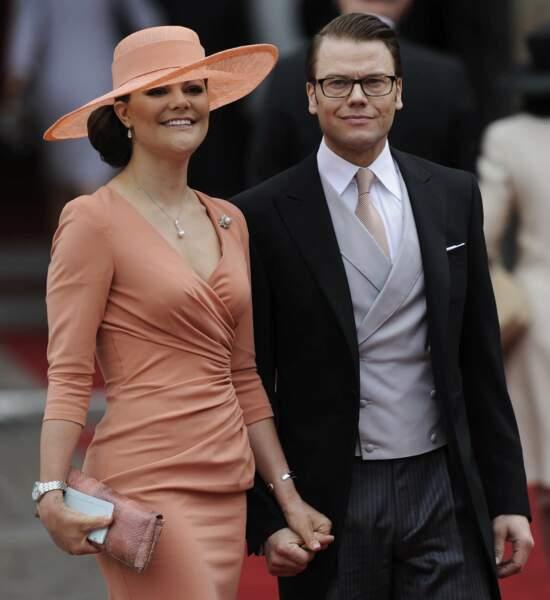La princesse Victoria de Suède et son mari le prince Daniel