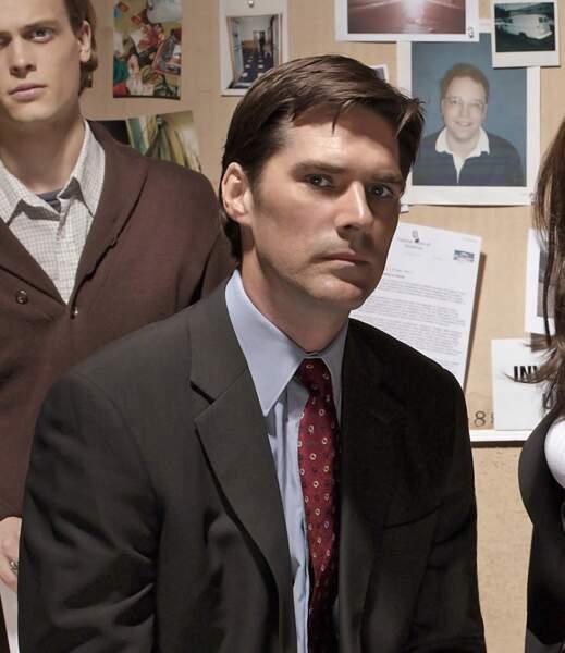 Thomas Gibson a incarné le chef d'unité Aaron « Hotch » Hotchner entre les saisons 1 et 12