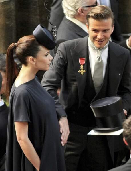 Tout comme David Beckham et sa femme Victoria, enceinte de leur fille Harper
